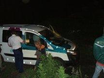 Dronken automobilist veroorzaakt ravage in Hem